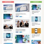 Dynamo Multimedia Blogger Templates