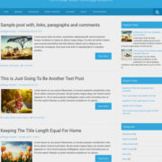 Earth Pro Blogger Templates
