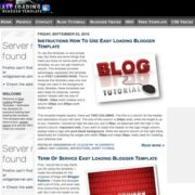 Easy Loading Blogger Templates