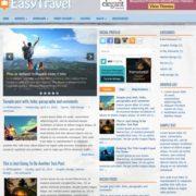 EasyTravel Blogger Templates