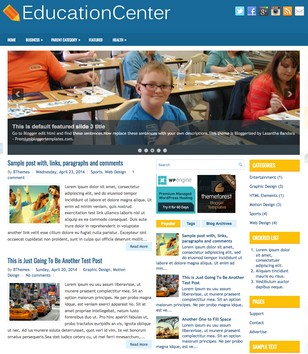 EducationCenter Blogger Templates