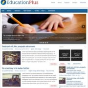 EducationPlus Blogger Templates