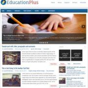 EducationPlus Blogger Templates
