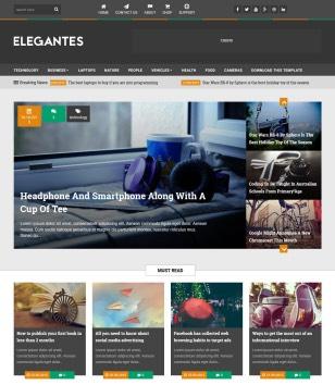 Elegantes Blogger Templates