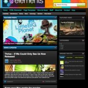 Elements Blogger Templates