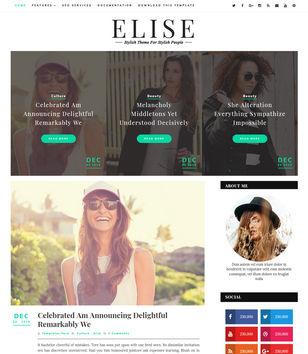 Elise Blogger Templates