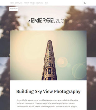 Emerge Blogger Templates