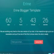 Erine Responsive Blogger Templates