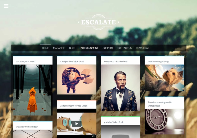 Escalate Gallery Blogger Template. Blogger Themes. Best suitable for news blog templates. Ads ready blogspot templates help for add adsense ad code and easily showing adsence ads in your blog. Adapted from WordPress templates are converted from WordPress themes. It is help for take your rich. Blogger magazine template specially designed for magazine blogs. The writers can utilize this themes for take blog attractive to users. Elegant themes are more used themes in most of the blogs. Minimalist blog templates. Free premium blogger themes means, themes authors release two types of themes. One is premium another one is free. Premium templates given for cost but free themes given for no cost. You no need pay From California, USA. $10 USD, or $20 USD and more. But premium buyers get more facilities from authors But free buyers. If you run game or other animation oriented blogs, and you can try with Anime blog templates. Today the world is fashion world. So girls involve to the criteria for make their life fashionable. So we provide fashion blogger themes for make your fashionable. News is most important concept of the world. Download news blogger templates for publishing online news. You can make your blog as online shopping store. Get Online shopping store blogger template to sell your product. Navigation is most important to users find correct place. Download drop down menu, page navigation menu, breadcrumb navigation menu and vertical dropdown menu blogspot themes for free. Google Guide. Blogging tips and Tricks for bloggers. Google bloggers can get blogspot trick and tips for bloggers. Blog templates portfolio professional blogspot themes, You can store your life moments with your blogs with personal pages templates. Video and movie blogs owners get amazing movie blog themes for their blogs. Business templates download. We publish blogger themes for photographers. Photographers easily share photos via photography blog themes. St valentine Christmas Halloween templates. Download Slideshow slider templates for free. Under construction coming soon custom blogspot template. Best beautiful high quality Custom layouts Blog templates from templateism, soratemplates, templatetrackers, simple, cute free premium professional unique designs blog themes blogspot themes. Seo ready portfolio anime fashion movie movies health custom layouts best download blogspot themes simple cute free premium professional unique designs xml html code html5.