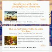 Esperanza Lite Responsive Blogger Templates