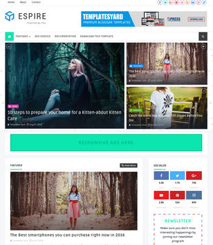Espire Blogger Templates