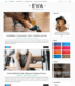 Eva Simple Blogger Templates