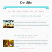 Ever After Responsive Blogger Templates