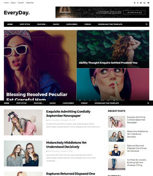 EveryDay Blogger Templates