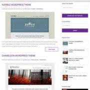 EvidBT Responsive Blogger Templates