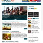 ExpressNews Responsive Blogger Templates