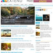 Extend Blogger Templates
