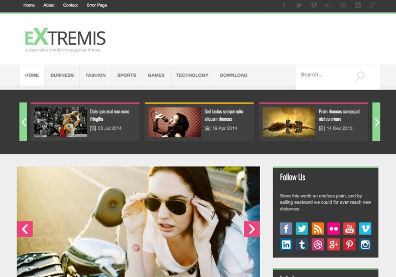 Extremis Responsive Blogger Template. Free Blogger templates. Blog templates. Template blogger, professional blogger templates free. blogspot themes, blog templates. Template blogger. blogspot templates 2013. template blogger 2013, templates para blogger, soccer blogger, blog templates blogger, blogger news templates. templates para blogspot. Templates free blogger blog templates. Download 1 column, 2 column. 2 columns, 3 column, 3 columns blog templates. Free Blogger templates, template blogger. 4 column templates Blog templates. Free Blogger templates free. Template blogger, blog templates. Download Ads ready, adapted from WordPress template blogger. blog templates Abstract, dark colors. Blog templates magazine, Elegant, grunge, fresh, web2.0 template blogger. Minimalist, rounded corners blog templates. Download templates Gallery, vintage, textured, vector, Simple floral. Free premium, clean, 3d templates. Anime, animals download. Free Art book, cars, cartoons, city, computers. Free Download Culture desktop family fantasy fashion templates download blog templates. Food and drink, games, gadgets, geometric blog templates. Girls, home internet health love music movies kids blog templates. Blogger download blog templates Interior, nature, neutral. Free News online store online shopping online shopping store. Free Blogger templates free template blogger, blog templates. Free download People personal, personal pages template blogger. Software space science video unique business templates download template blogger. Education entertainment photography sport travel cars and motorsports. St valentine Christmas Halloween template blogger. Download Slideshow slider, tabs tapped widget ready template blogger. Email subscription widget ready social bookmark ready post thumbnails under construction custom navbar template blogger. Free download Seo ready. Free download Footer columns, 3 columns footer, 4columns footer. Download Login ready, login support template blogger. Drop d