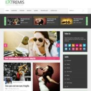 Extremis Responsive Blogger Templates
