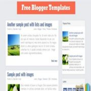 FB Blogger Templates