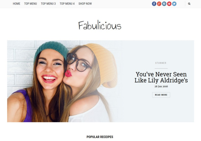 Fabulicious Blogger Template. Best blogger template for design fashion blogs. You can renovate your blogger blog with this blogger template. Fabulicious Blogger Template help to give new look for your fashion blog.