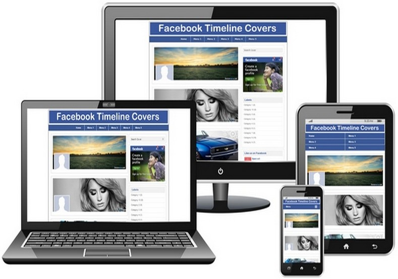 Facebook Cover Blogger Template Free Templates Blog