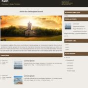 Faith Blogger Templates