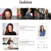 Fashion Clean Blogger Templates