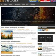 FastStart Blogger Templates
