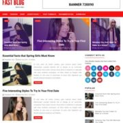 Fastblog Blogging Blogger Templates