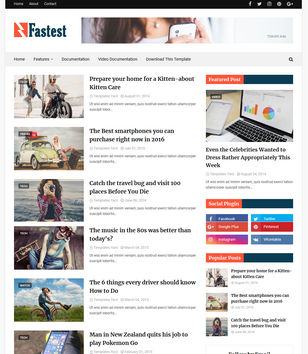 Business blogger templates 2018 free download fastest wajeb Choice Image