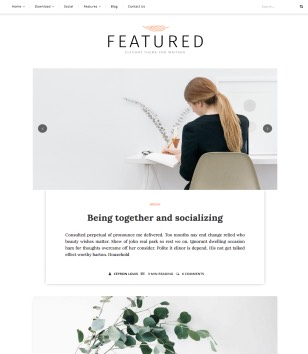 Featured Blogger Templates