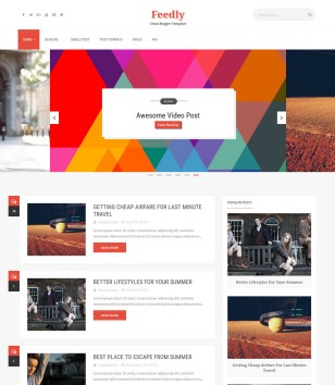 Feedly Blogger Templates