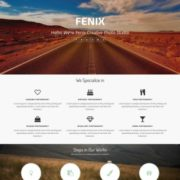 Fenix Creative Blogger Templates