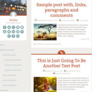 Fictive Simple Blogger Templates