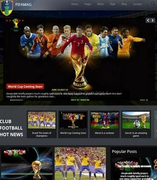 Fifamag Responsive Blogger Templates