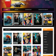 Film Reviews Blogger Templates
