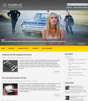 FilmPlus Blogger Templates