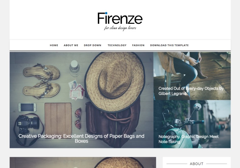 Firenze Blogger Template