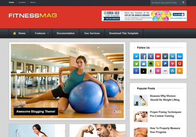 FitnessMag Blogger Template. Free Blogger templates. Blog templates. Template blogger, professional blogger templates free. blogspot themes, blog templates. Template blogger. blogspot templates 2013. template blogger 2013, templates para blogger, soccer blogger, blog templates blogger, blogger news templates. templates para blogspot. Templates free blogger blog templates. Download 1 column, 2 column. 2 columns, 3 column, 3 columns blog templates. Free Blogger templates, template blogger. 4 column templates Blog templates. Free Blogger templates free. Template blogger, blog templates. Download Ads ready, adapted from WordPress template blogger. blog templates Abstract, dark colors. Blog templates magazine, Elegant, grunge, fresh, web2.0 template blogger. Minimalist, rounded corners blog templates. Download templates Gallery, vintage, textured, vector, Simple floral. Free premium, clean, 3d templates. Anime, animals download. Free Art book, cars, cartoons, city, computers. Free Download Culture desktop family fantasy fashion templates download blog templates. Food and drink, games, gadgets, geometric blog templates. Girls, home internet health love music movies kids blog templates. Blogger download blog templates Interior, nature, neutral. Free News online store online shopping online shopping store. Free Blogger templates free template blogger, blog templates. Free download People personal, personal pages template blogger. Software space science video unique business templates download template blogger. Education entertainment photography sport travel cars and motorsports. St valentine Christmas Halloween template blogger. Download Slideshow slider, tabs tapped widget ready template blogger. Email subscription widget ready social bookmark ready post thumbnails under construction custom navbar template blogger. Free download Seo ready. Free download Footer columns, 3 columns footer, 4columns footer. Download Login ready, login support template blogger. Drop down menu 