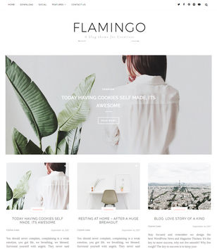Flamingo Blogger Templates