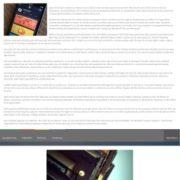 Flat Vetro Responsive Blogger Templates