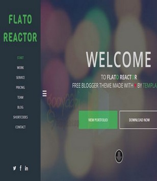 Flato Reactor Blogger Templates