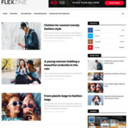 FlexZine Blogger Templates
