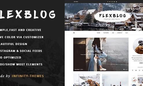 Flexblog - A WordPress Blog Theme