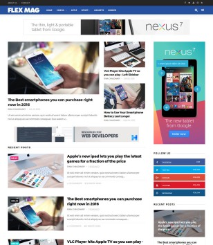 Flexmag Blogger Templates