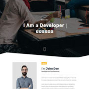 Folio Blogger Templates