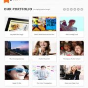 Folio360 Blogger Templates