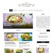 Food Blog Blogger Templates