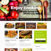 Food Mag Blogger Templates